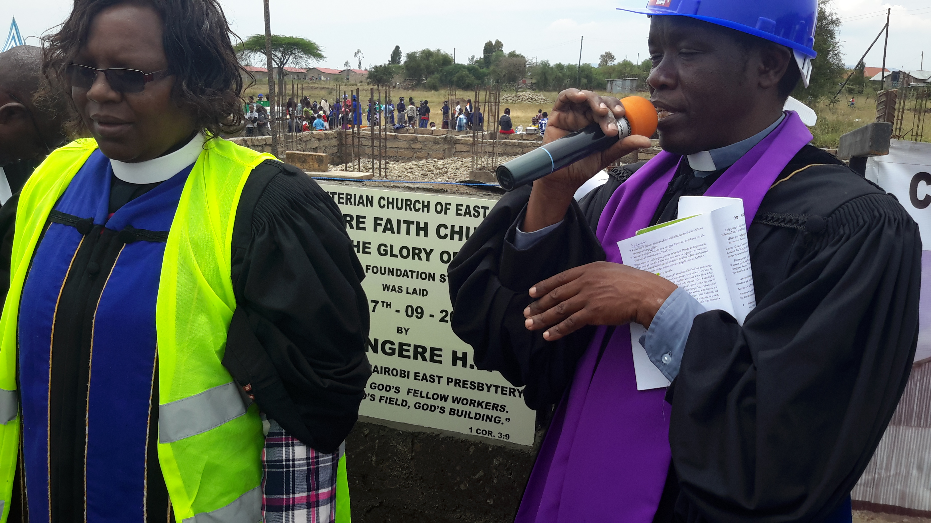 PCEA Kware Church Stone Laying Ceremony on 17th September, 2017