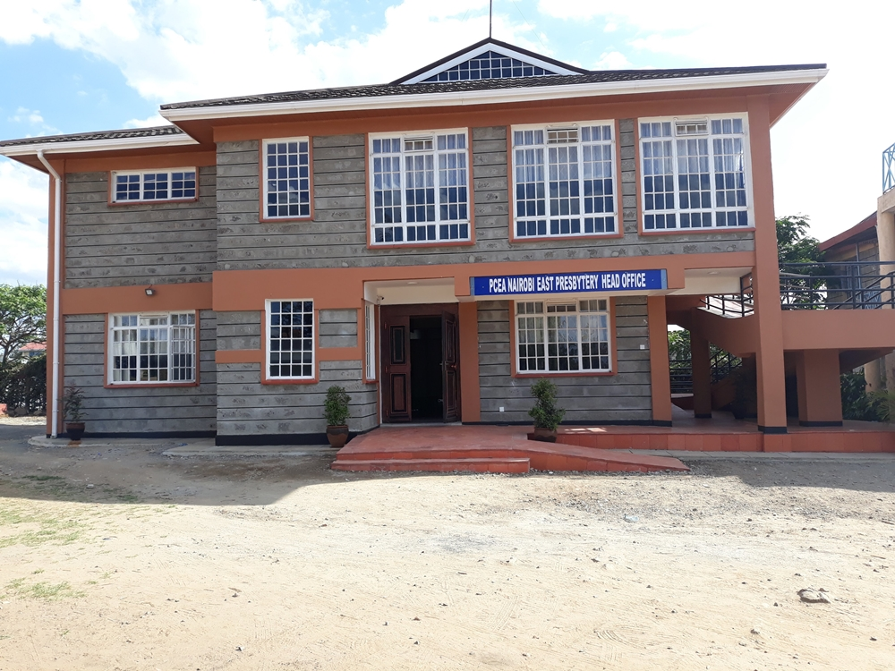 Dedication of Nairobi East Presbytery office block