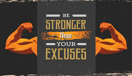 Why we should stop making excuses