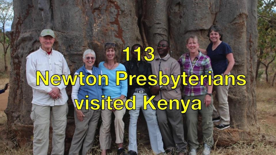 Nairobi – Newton May 6th meeting