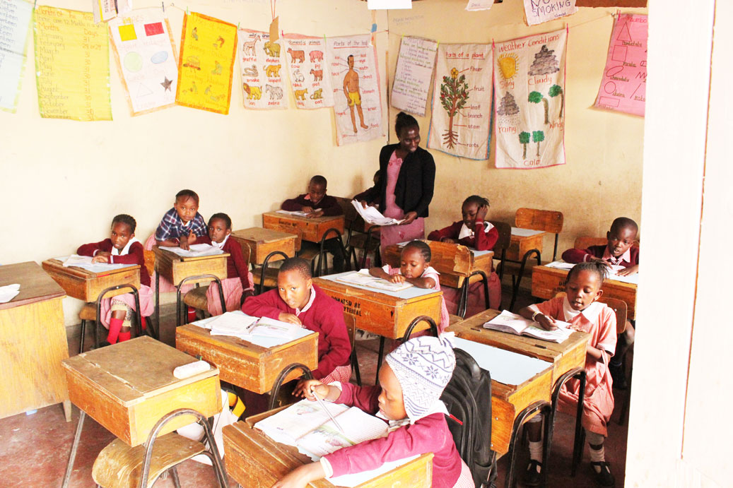 INVEST IN A KENYAN CHILD'S EDUCATION