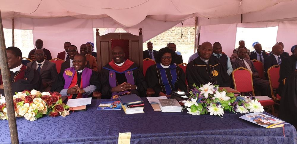 Student minister licensing service of Rev Jecinta W Kiugi at PCEA Mwihoko